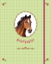 , Briefpapier paarden