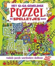 Lisa REGAN , Het gi-ga-geweldige puzzel- en spelletjesboek