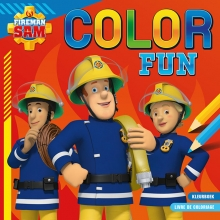 , Brandweerman Sam Color Fun Sam le pompier Color Fun