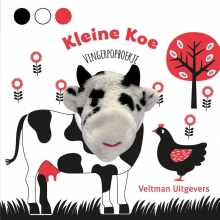 , Vingerpopboekje Kleine Koe
