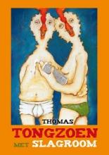 Thomas Tongzoen met slagroom