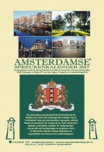 Shirley  Brandeis, Clementine  Vrooland Amsterdamse spreukenkalender 2017