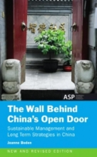 Jeanne Boden The wall behind China`s open door