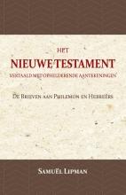 Samuël Lipman , De Brieven aan Philemon en Hebreërs