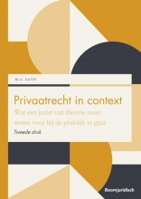 M.A. Loth , Privaatrecht in context