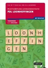 D.R. in `t Veld , PDL Loonheffingen 2021-2022 Theorieboek