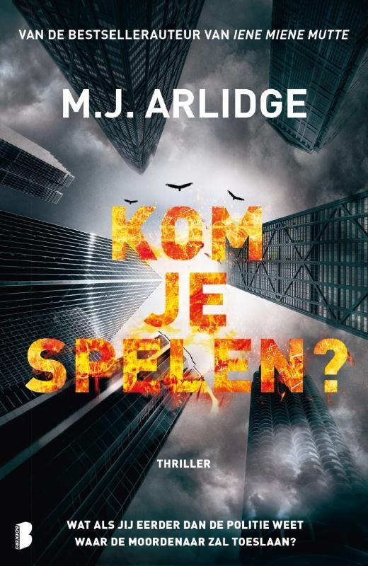 M.J. Arlidge,Kom je spelen?