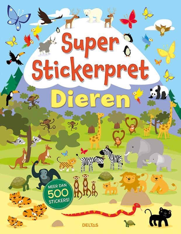 ,Super Stickerpret - Dieren