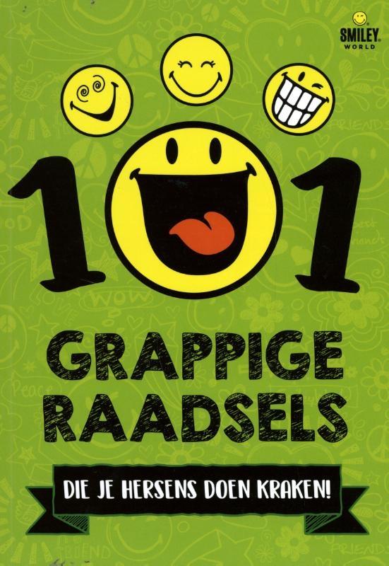 Smiley,101 Grappige raadsels die je hersens doen kraken