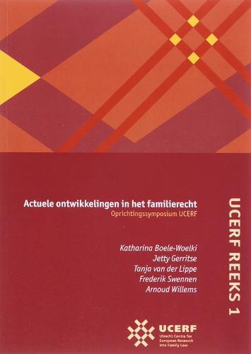 ,UCERF 1 Actuele ontwikkelingen in het familierecht