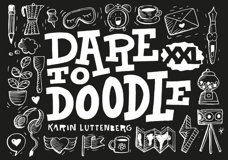 Karin Luttenberg,Dare to doodle XXL