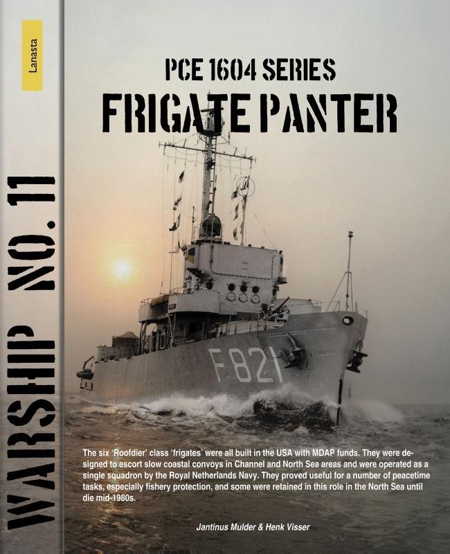 Jantinus Mulder, Henk Visser,PCE 1604 series, frigate Panter