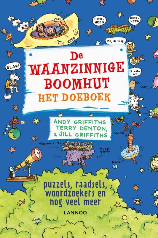 Andy Griffiths, Terry Denton, Jill Griffiths,De waanzinnige boomhut, het doeboek