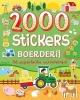 ,2000 stickers Boerderij