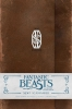 <b>Insight Editions</b>,Fantastic Beasts Newt Scamander Hardcover Ruled Journal