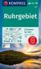 ,KOMPASS Wanderkarte 821 Ruhrgebiet