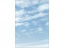 ,designpapier Sigel A4 90grs pak a 100 vel Clouds