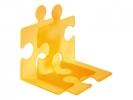,boekensteun HAN Puzzle set a 2 stuks signal oranje