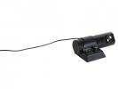 ,Tafelklok NeXtime 17 x 7.5 x 10 cm, plastic, zwart,         `Projector`