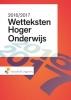 ,<b>Wetteksten Hoger Onderwijs 2016-2017</b>