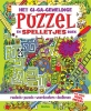 Lisa  REGAN,Het gi-ga-geweldige puzzel- en spelletjesboek