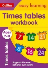 Collins Easy Learning,   Simon Greaves Times Tables Workbook Ages 7-11: New Edition