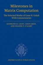 Raymond (The Chinese University of Hong Kong) Chan,   Chen (The University of British Columbia) Greif,   Dianne (University of Maryland) O`Leary Milestones in Matrix Computation