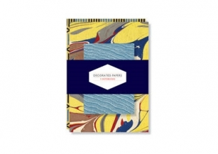 Marks, PJM Decorated Papers: Set of 3 Notebooks