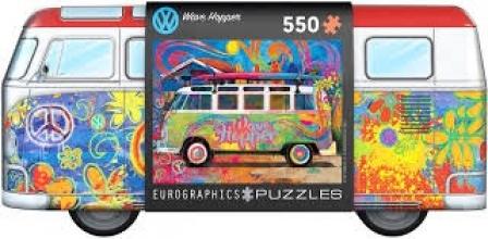 Eur-8551-5561 , Puzzel puzzel in blik - vw wave hopper - 550 stuks