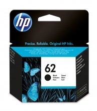, Inktcartridge HP C2P04AE 62 zwart