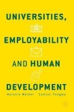 Walker, Melanie Universities, Employability and Human Development