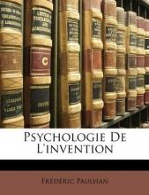 Paulhan, Frederic Psychologie De L`invention