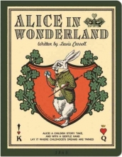 Alice in Wonderland Stitch Large Grid Notebook