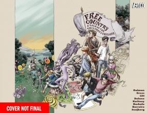 Gaiman, Neil,   Litt, Toby,   Pollack, Rachel Free Country a Tale of the Children`s Crusade