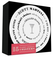 Chronicle Books Cocktail Coasters