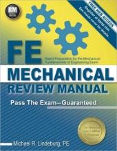 Lindeburg, Michael R. FE Mechanical Review Manual