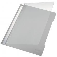, Snelhechter Leitz 4191 A4 PVC grijs