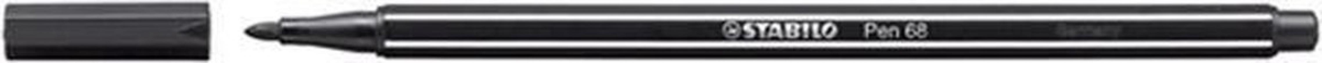 , Viltstift STABILO Pen 68/46 zwart