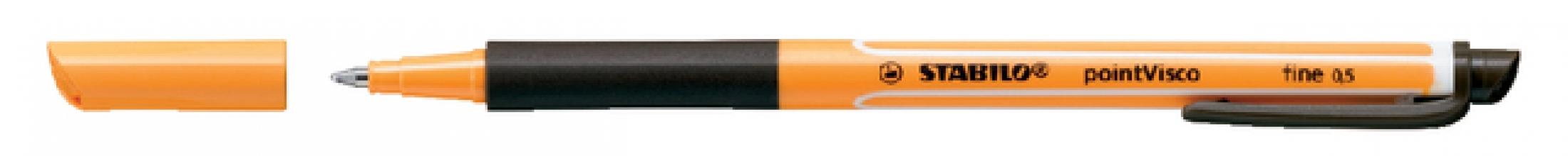 , Rollerpen STABILO PointVisco 1099/46 zwart