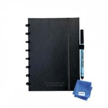 , Notitieboek Correctbook Premium A5 lijn 40blz ink black