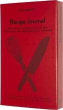 , Notitieboek Moleskine Passion journal recepten rood