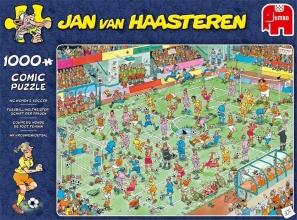 , Jan van Haasteren WK vrouwenvoetbal - 1000 stukjes