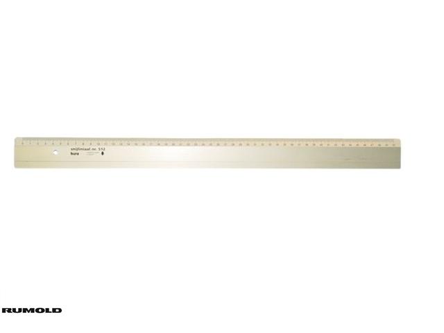 ,Liniaal Bura 512 300mm aluminium