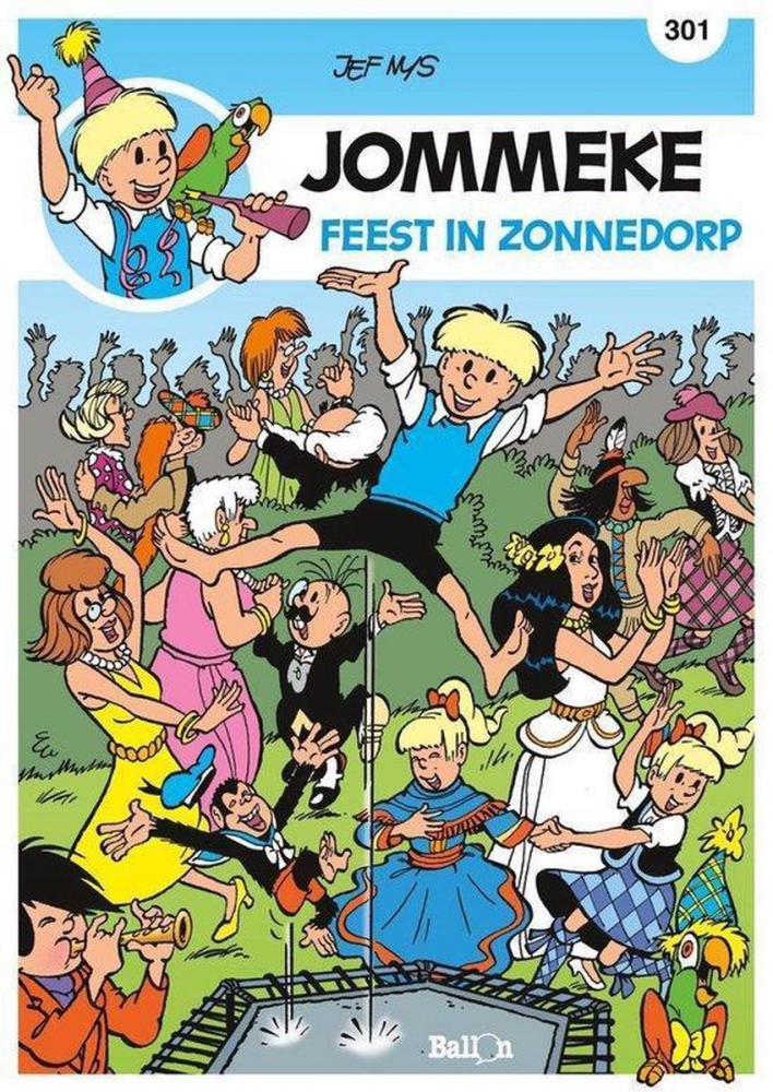 Philippe Delzenne,Feest in Zonnedorp