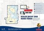 , Sportbootkarten Satz 1: Kieler Bucht und Rund F?nen (Ausgabe 2018)