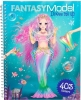, Fantasy model dress me up stickerboek