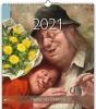 , Maandkalender 2021 marius van dokkum 30x34.5