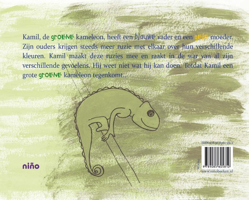 Daniëlle Steggink,Kamil, de groene kameleon