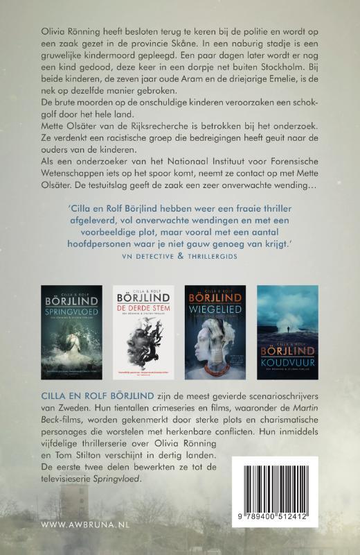 Cilla Börjlind, Rolf Börjlind,Zwarte dageraad
