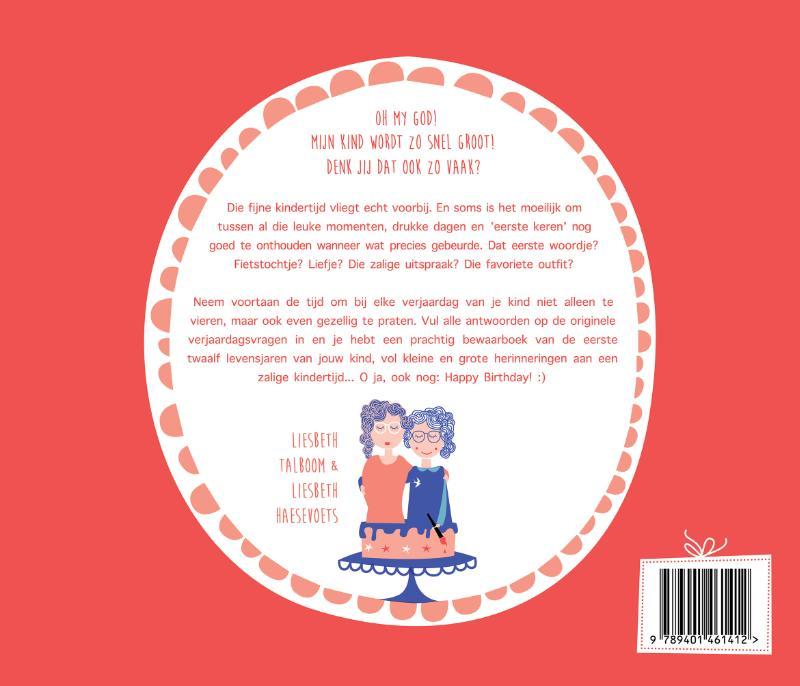 Liesbeth Talboom, Liesbeth Haesevoets, Mama Baas,Het grote verjaardagen boek